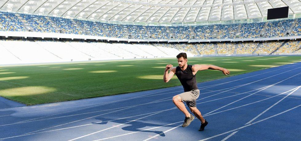 atleta correndo